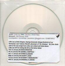 (285D) Little Joy, No One's Better Sake - DJ CD