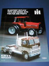 ERTL 1984 INTERNATIONAL HARVESTER REPLICAS CATALOG