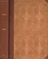 MAIA. RIVISTA DI LETTERATURE CLASSICHE n.s. anno XVI 1964