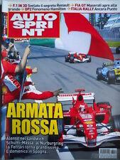 Autosprint n°19 2006  Fernando Alonso Benetton Michael Schumacher Ferrari [P24]
