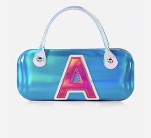 Justice Holo Initial K Sunglasses Case New with Tags