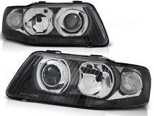 Audi A3 2000 2001 2002 2003 Headlights Lpau13 Black