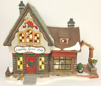 2000 Heartland Valley Village Cassidy Sport Shop Lighted House w/Box EXC COND