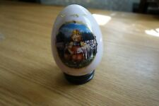 Hummel Danbury Porcelain Egg w/Stand - Favorite Pet (1993)