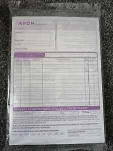 Avon customer Order Forms 50 Purple Sealed.