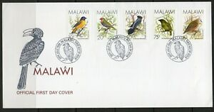 Malawi FDC stamps birds