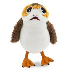 Disney Porg Plush Soft Stuffed Doll Small 9'' Star Wars The Last Jedi