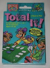 1999 TOTAL IT! Slammin' Jammin' Card Game by Bicycle Kids Homeschool Rare