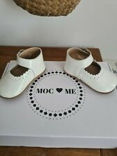 Baby Shoes, Infant Size 2, Mocc And Me. Spanish Baby Girl