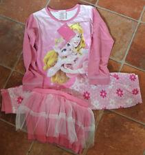 New Disney Palace pets 100% cotton TuTu pajamas pink 18-24 mnths