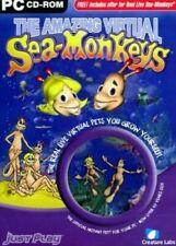 The amazing Virtual Sea Monkeys Game PC CD-ROM New Sealed Windows 95/98/2000/XP