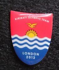 2012 LONDON OLYMPIC KIRIBATI NOC PIN