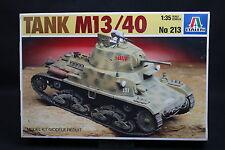 XU008 ITALERI 1/35 maquette char assaut Italien 213 TANK M13/40 M13 40