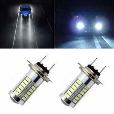 Super Bright H7 33 LED SMD5630 White Car Fog Light Headlight Driving Lamp Bulbs
