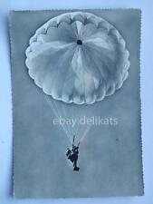 LIVORNO Centro Militare Paracadutismo paracadutisti vecchia cartolina