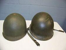 Vietnam Era M1 Steel Helmet and Liner