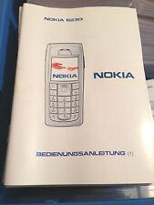 Nokia 6230i Bedienungsanleitung BDA Gebrauchsanleitung Handbuch Anleitung
