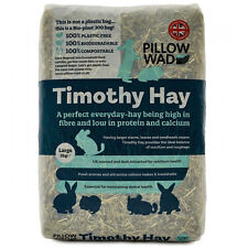 More details for pillow wad bio timothy hay large - soft timothy hay in bodegradable packaging