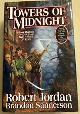 TOWERS OF MIDNIGHT AUTOSIGNED 1st EDITION BY ROBERT JORDAN (Wheel Of Time)
