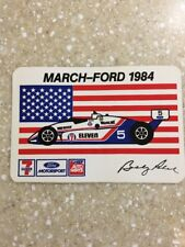 Brand New 1984 Bobby Rahal Indy Car Sticker Decal