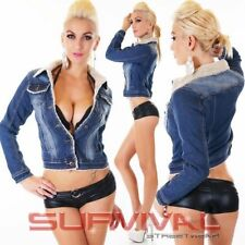 Polyester Jean Jackets for Women