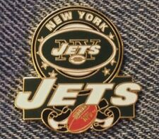 New York Jets Lapel Pin~NFL~Football~Vintage 1998 by Peter David Inc.