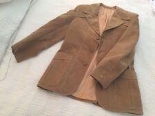 Suede Original Vintage Outerwear Coats & Jackets for Men
