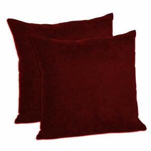 Decorative Throw Pillow Shams Cushion Covers Pillow Cases Faux Suede Set of 2