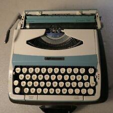 TYPEWRITER 1960'S SMITH CORONA CORSAIR 700 SKY BLUE
