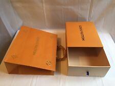 LOUIS VUITTON origanale scatola a cassetto + shopper (busta)
