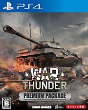 PS4 War Thunder Premium Package Japan Sony PlayStation 4 New F