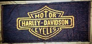 10 Harley Davidson Motor Cycles - Bar Towels -  NEW