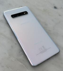 Samsung Galaxy S10 SM-G973U - 128GB - Prism White (Unlocked) (Single SIM)