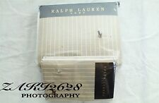 BNWT Ralph Lauren naturale ampia a righe oxford Re Piumone & Federa RRP £ 254