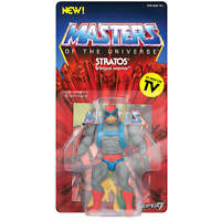 Stratos Vintage Collection MotU Masters of the Universe Action Figur Super7