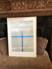 "Ida Shoichi: Surface is the Between Signed Lithograph ""Cross The Sea"" 1978 AP"