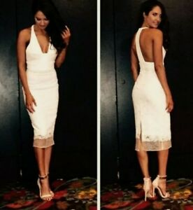 Manning Cartell white lace dress BNWT RRP $599 size 10
