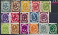 BRD 123-138 postfrisch 1951 Posthorn (8609832