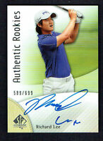 Richard Lee signed autograph auto 2013 Upper Deck SP Authentic Rookies 589/699