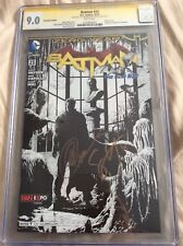 Batman 23 (2013) Fan Expo Sketch Cover Variant  CGC 9.0 SS Capullo and Snyder