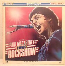 (LASERDISC) Paul McCartney & Wings - Rockshow / Japan / PA-82-027