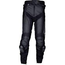 Pantalons noirs en cuir pour motocyclette, Taille 42