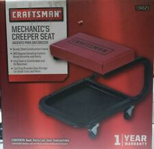Craftsman Mechanics Creeper Seat  934521 Automotive Auto Repair Rolling Chair