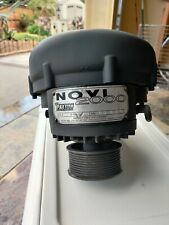 """Paxton Novi 2000 with 4"""" pulley"""