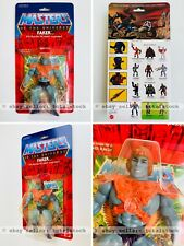 Masters Of The Universe FAKER Figure SEALED ON CARD MOTU Commemorative FRESH
