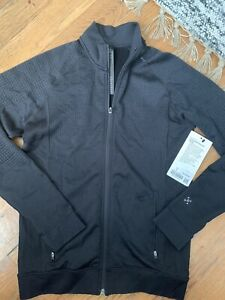 Lululemon Engineered Warmth L/S Running Jacket - Men's Small ~ $168 Black Wool