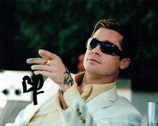 Brad PITT SIGNED Autograph 10x8 Oceans Twelve Photo AFTAL