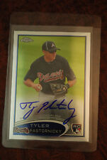 2012 TOPPS CHROME ROOKIE AUTO AUTOGRAPH TYLER PASTORNICKY BRAVES