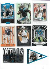 CAM NEWTON LOT (15) INSERTS, PARALLELS, Serially #'d 122/299, PANTHERS, BV$45