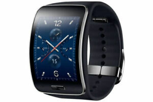 Samsung Galaxy gear S SM-R750 Curved AMOLED Smart Watch Black Wi-Fi No Box